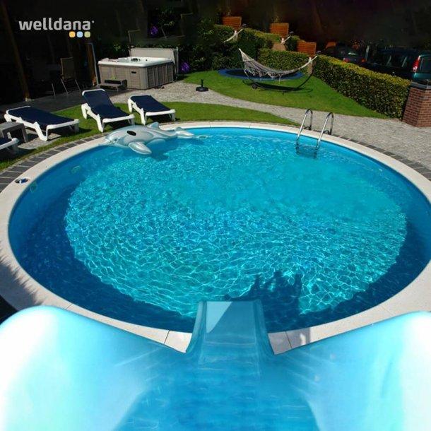 Rund Pool Pakke Ø 5 m H 1,5m Komplet med udstyr