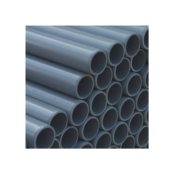 PVC Rør Ø50 mm - Længde 1,5 m