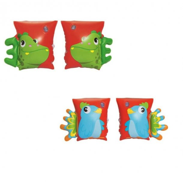 Badevinger - Armvinger med figur til børn 3-6 år
