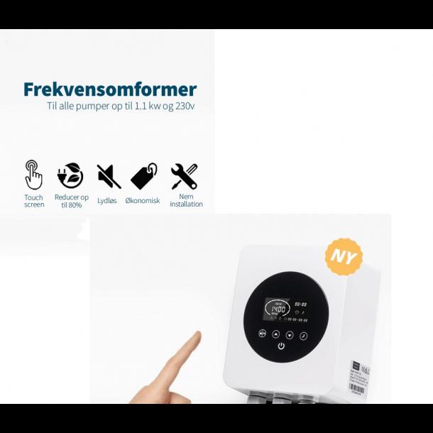 Frekvensomformer I-Saver+ til Poolpumper op til 1,1 kW