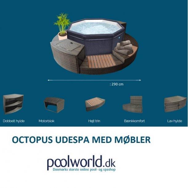 Octopus Udespa med Møbler