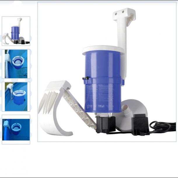 Filterpumpe med skimmer 2000 liter per time