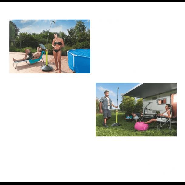 Solbruser Sunny grå til Have, Terrasse og Swimmingpool