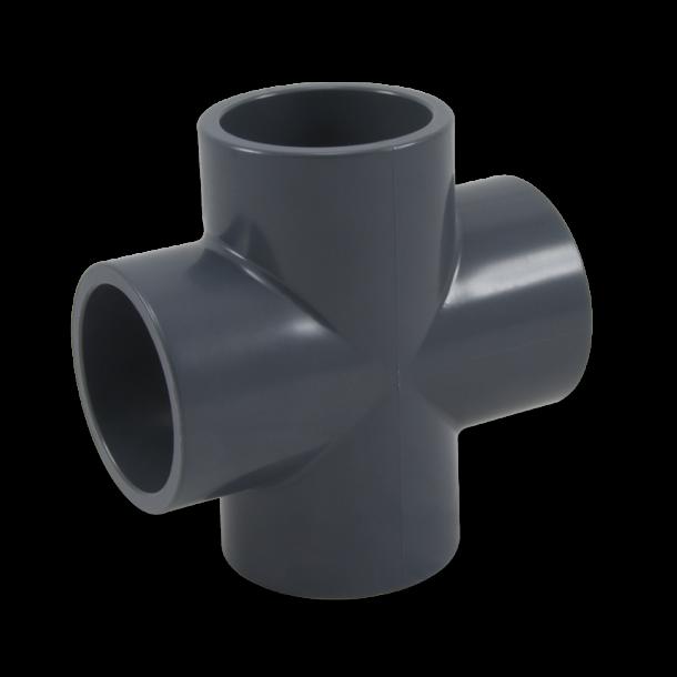 PVC Kryds Ø 63 mm lime
