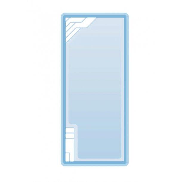 Gemini Glasfiber Pool Pakke 8,2 * 3,5 * 1,5 m