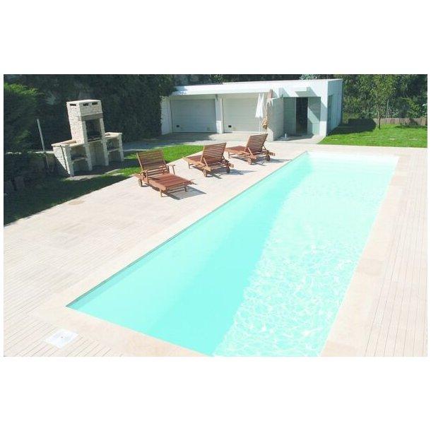 Algarve Komposit Panel Pool H 1,4 m  Flere størrelser