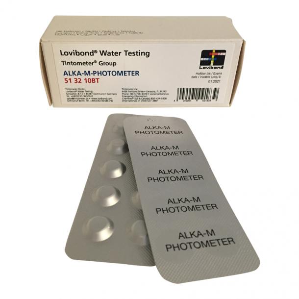 Alkalitet Test tabletter 100 stk til Scuba II Fotometer