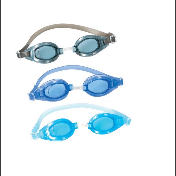 Svømmebrille Junior Crystal ass. farver