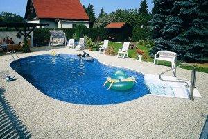 Komposit panel pool