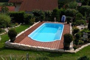 Glasfiber swimmingpool