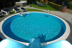 Nedgravet Pool