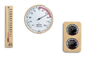 Sauna Ur og Termometer / Hygrometer