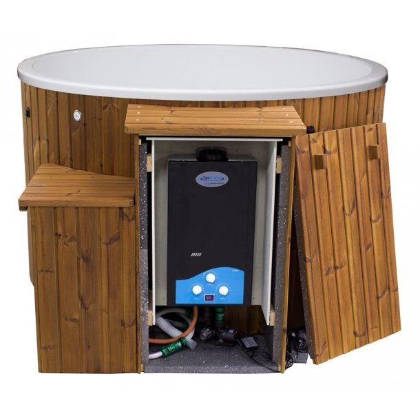 Citytub Gasovn Isoleret Acryl-Thermowood - 3 farver