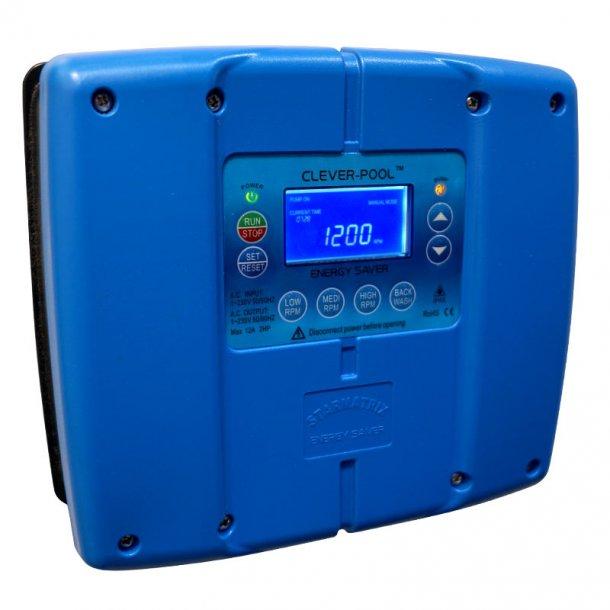Clever-Pool Pumpe Inverter - Spar på Energien