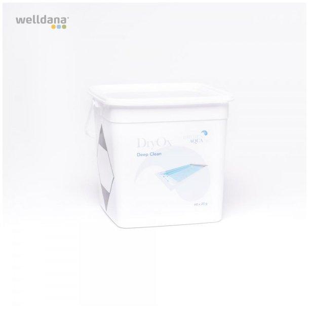 DryOx pool og spa rør -og filterrens 60 x 20 g tabs 1,2 kg