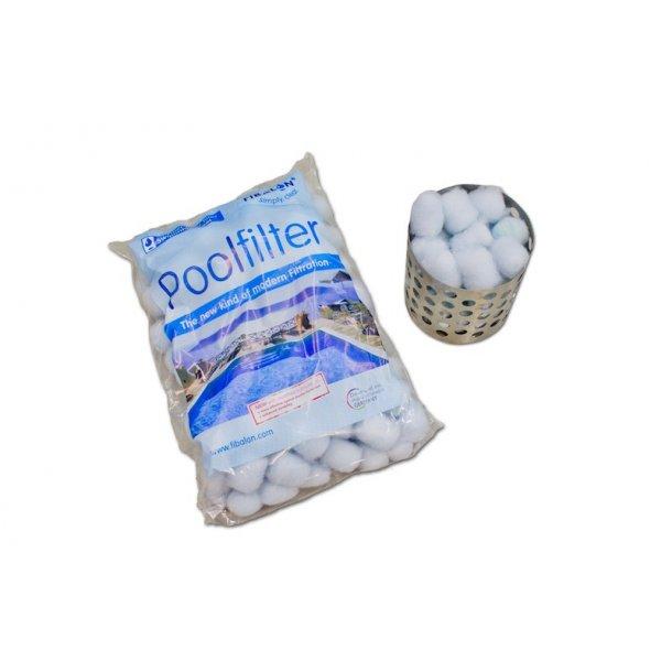 Filterholder med filterballs