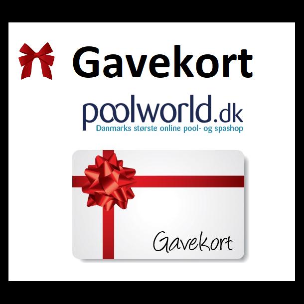 Gavekort til PoolWorld - angiv selv beløb