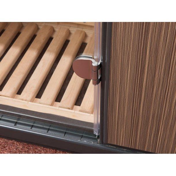 Infrarød sauna 96*91*195 cm Karbon Corinna 1 Person