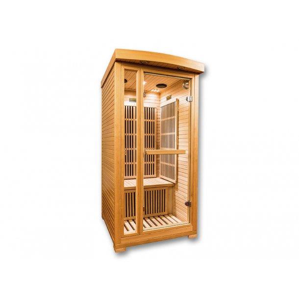 Infrarød Sauna Karbon Ruby 1 Person 90 x 105 x 186 cm