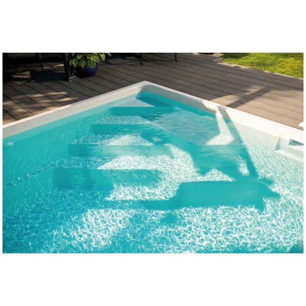 Ametyst Keramisk Pool Pakke 6,18 x 3,14 x 1,4 m