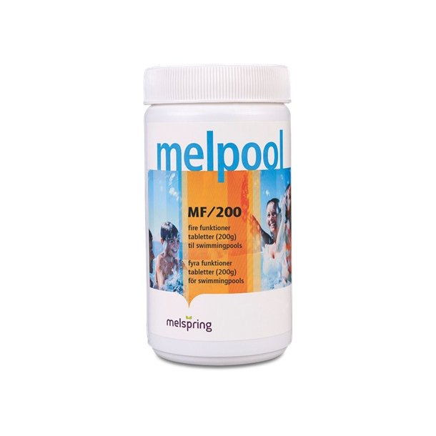 Melpool Multi-tabletter MF/200 - 200 g - 1 Kg