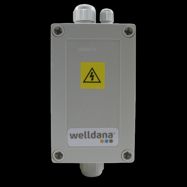 Welldana Kontakterbox til max 12 kw elvarmer