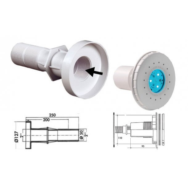 Led lampe Mini Liner Pool CrystaLogic Hayward