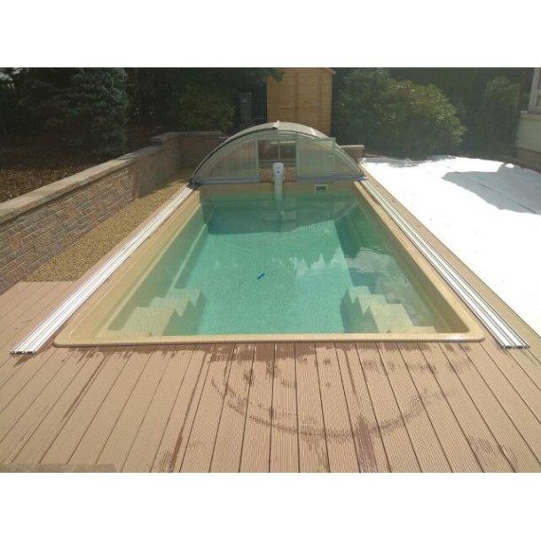 Perseus Glasfiber Pool Pakke 6,0 * 3,2 * 1,4 m
