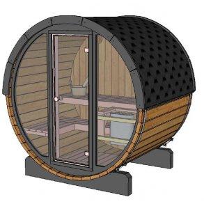 Tønde Sauna Til Haven Udendørs Sauna Hytte Saunatønder
