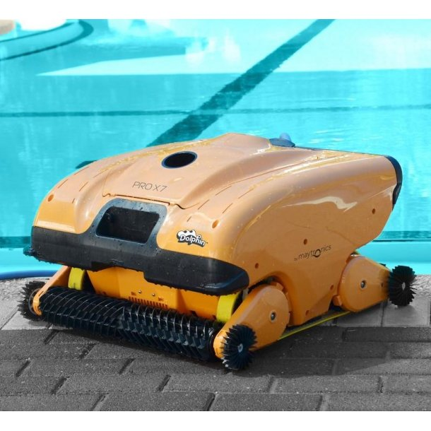 Dolphin Pro X7 Poolrobot offentlig pool