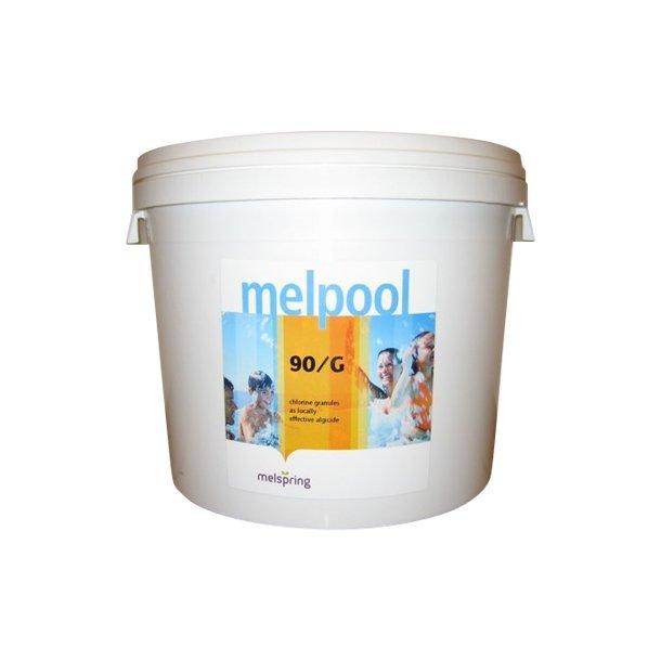 Melpool klorgranulat 90/g trichlor 10 kg.