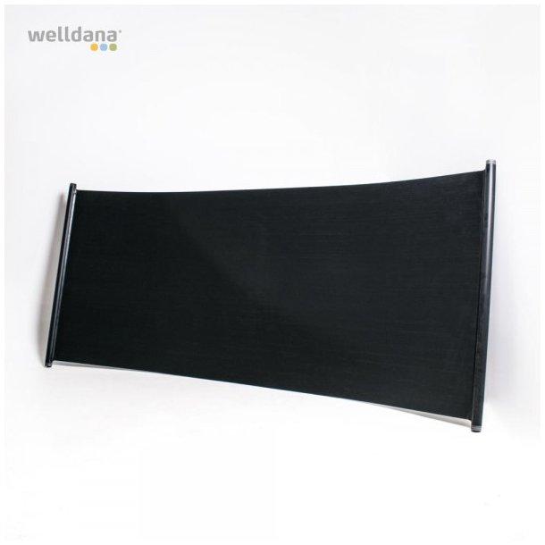 Solpanel 200x120cm 2,4m² - solvarme til pool