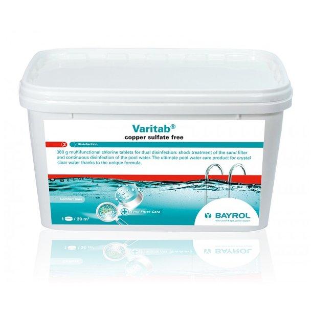 Varitab Klor Tablet 2 fase 5,4 kg - Bayrol