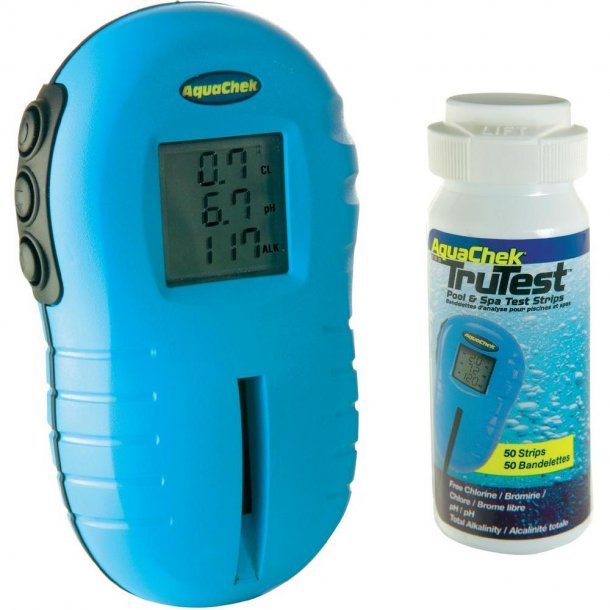 Aquachek Trutest Digital Pooltester - klor/ph/alkalitet