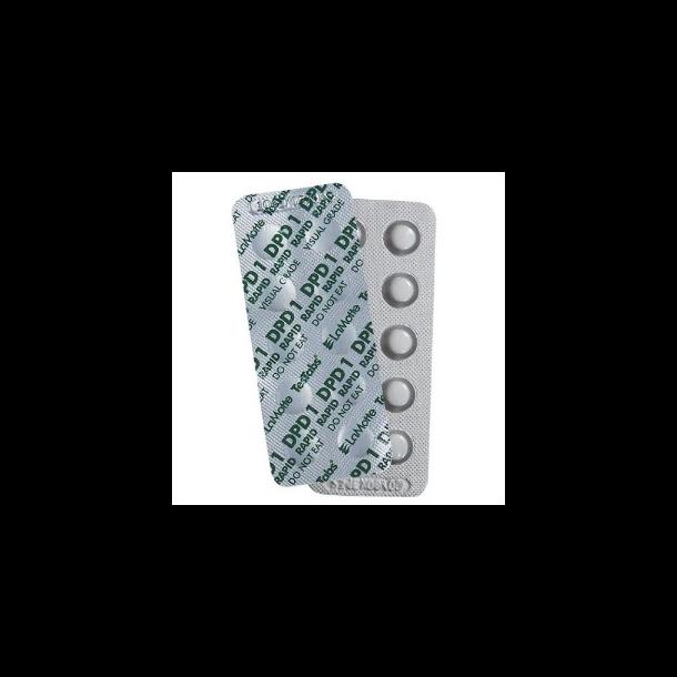 DPD1 Refiller 250 stk tabletter til måling af klor