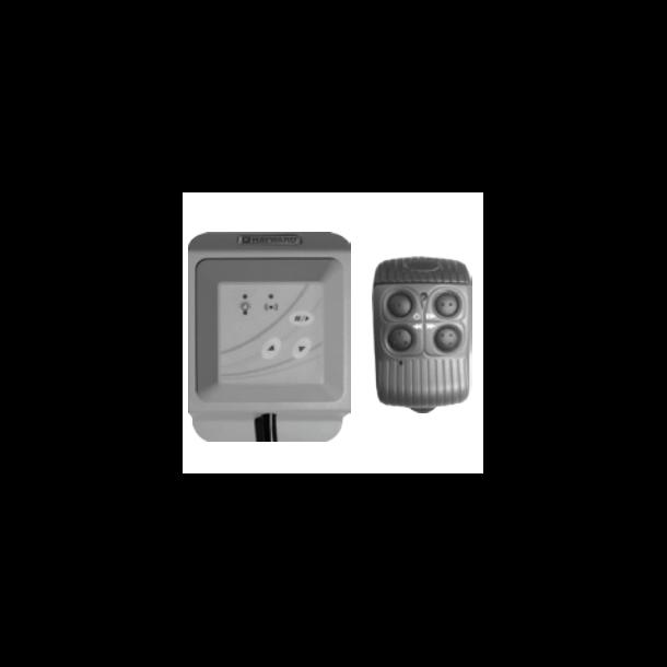 Hayward kontrol box+fjernbetjening til Colologic II led pære