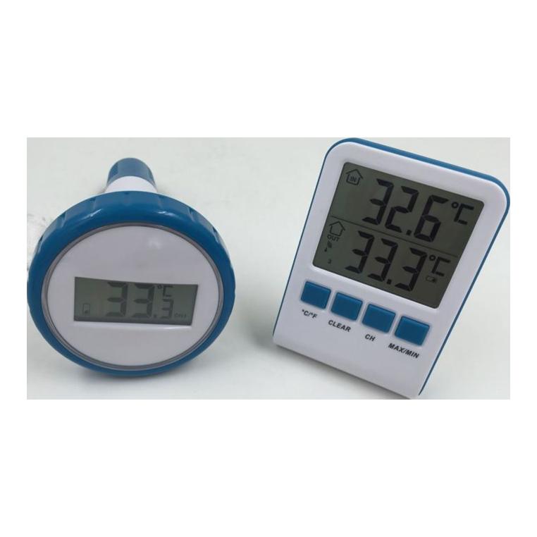 Trådløst termometer til pool og spa - Rækkevidde på 60 m fb1abd8b006e6