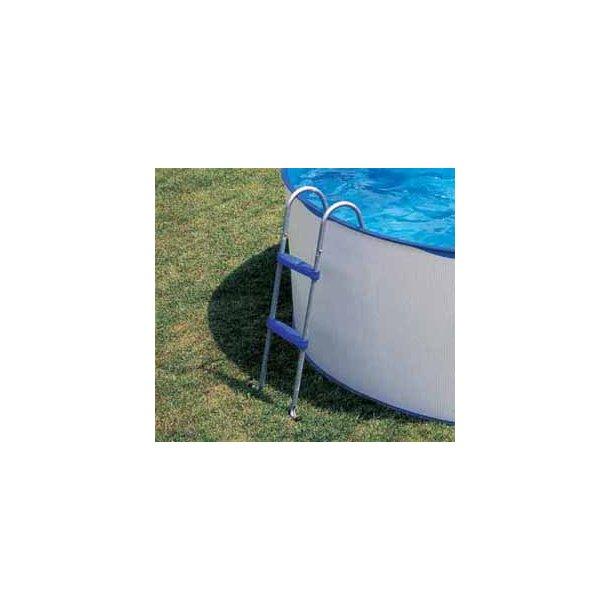 Stige til fritstående pool højde 98cm