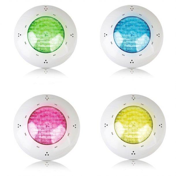 LED lampe til liner og beton pool 75 W - 144 leds - farve rgb