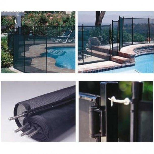 Sikkerhedsnet Hegn til pool H 1,25 M