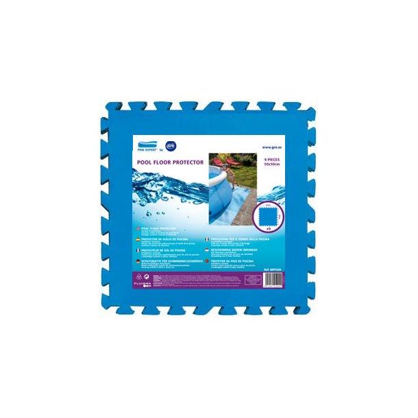 Underlag Pool og Spa - Skumfliser 50*50 cm 9 stk