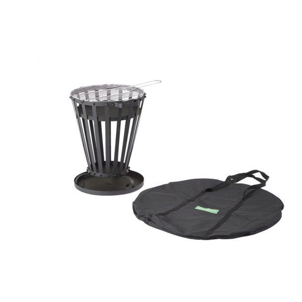 BBQ Fire Basket Bålkurv - Greenhand