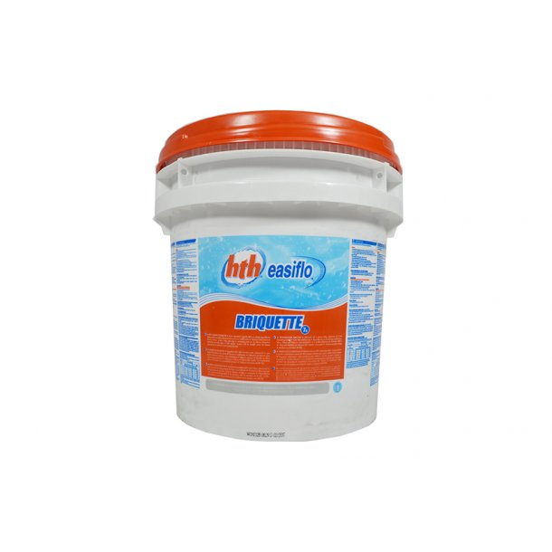 Hth klor tablet 7 g - 10 kg til pool