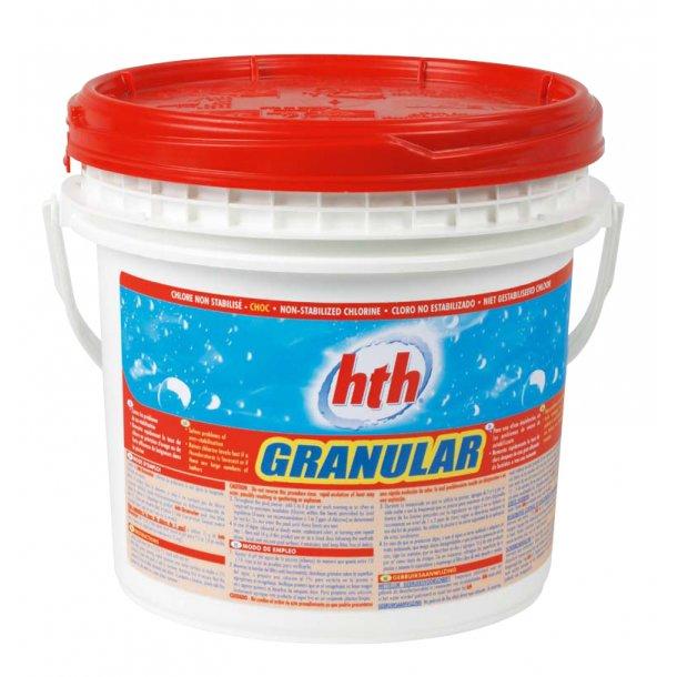 Hth Klor Granulat til Pool - 10 kg