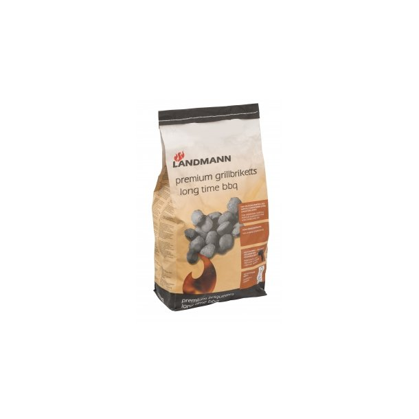 Premium Grill briketter 10 kg - Landmann
