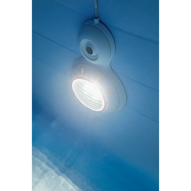LED Lampe Hvid Lys til Pool inkl. Transformer
