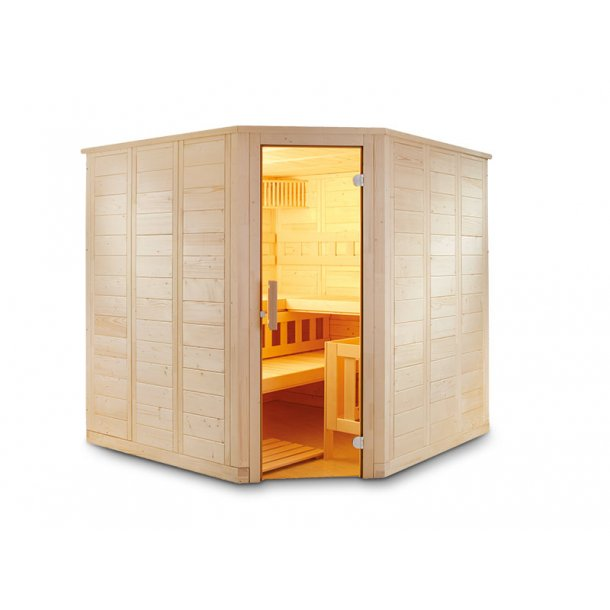 Sauna kabine Aren 205x205x204 9 kW Elovn