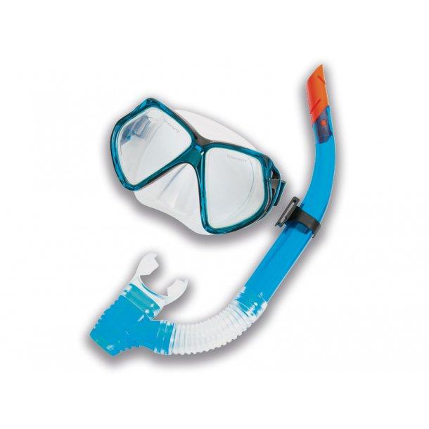 Dykkerbrille med snorkel Flere farver