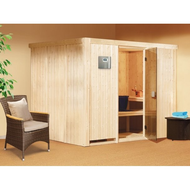 Sauna kabine Gobin 231x196x198 9 kW Elovn