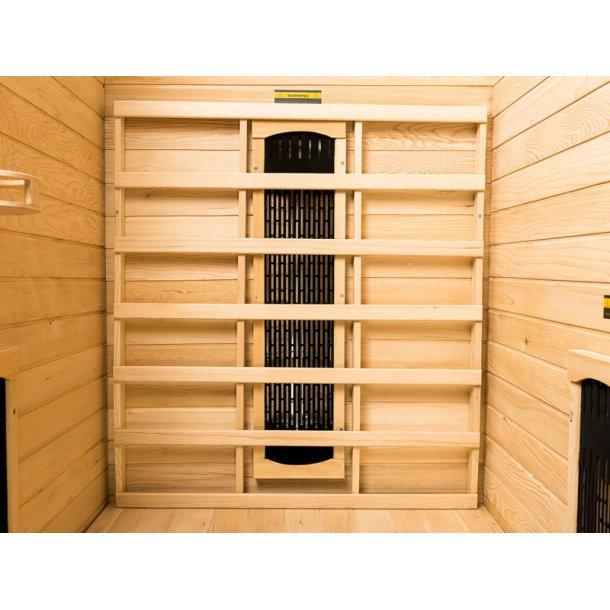 Infrarød Sauna 90 x 105 x 190 cm Keramisk Arawa 1 Person